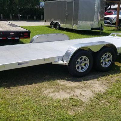 7x18' Aluminum Car Hauler 2021 for sale