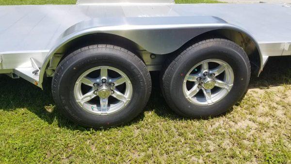 7×18′ Aluminum Car Hauler 2021 for sale